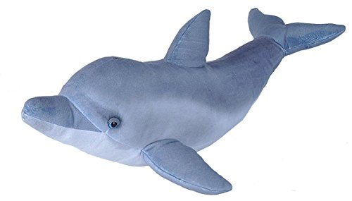 Wild Republic Bottlenose Dolphin Plush, Stuffed Animal, Plush Toy, Gifts for Kids, Living Ocean, 25 Inches
