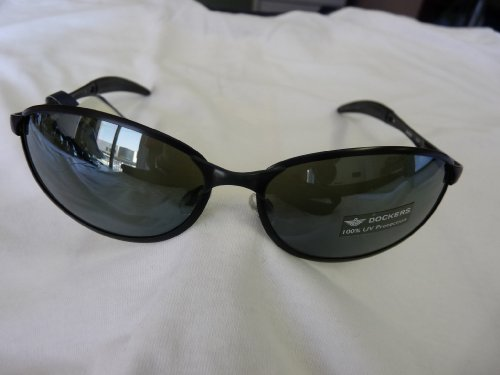 Dockers Sunglasses D4006006 Black ()