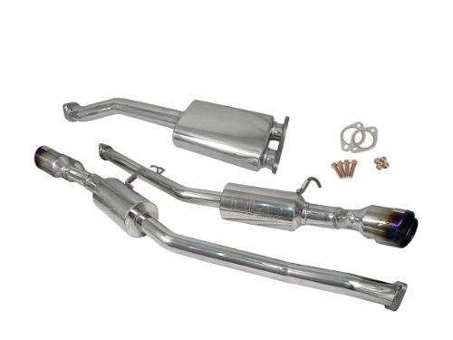 Injen SES1386QTT Stainless Steel Exhaust (Injen Ses Cat Back Exhaust)