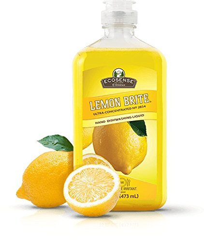 - Melaleuca EcoSense Lemon Brite Dishwashing Liquid 16oz - Lemon Scented