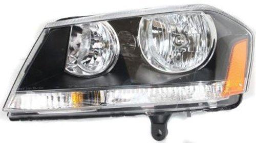 Crash Parts Plus Left Driver Side Headlight Head Lamp for 2008-2014 Dodge Avenger