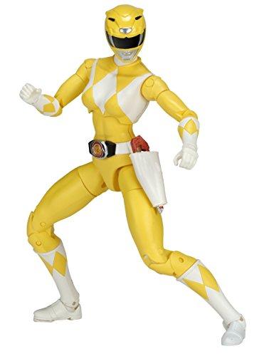 Power Rangers Legacy ‑ Mighty Morphin Ranger Legacy Figure, 6.5, Yellow