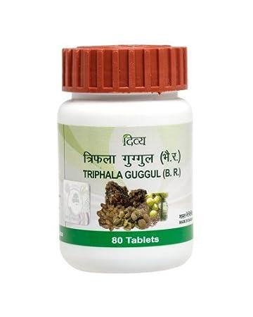 Patanjali Divya Triphala Guggul 80 tablets Pack by Patanjali