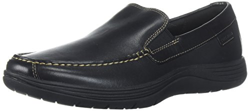 Cole Haan Mens Lewiston Venetian Slip-on Loafer Black With Copper Stiching w6ThoaMs