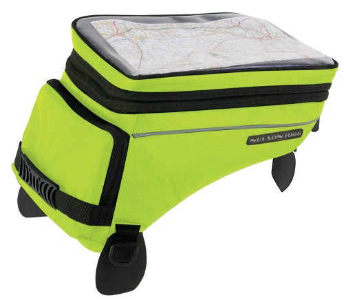 Nelson-Rigg (CL-1055) Hi-Visibility Yellow Adventure Touring Tank Bag