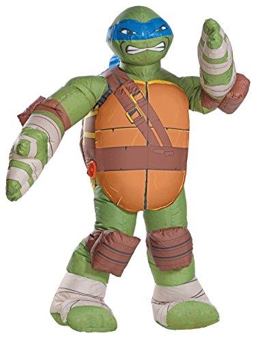Rubie's Men's Teenage Mutant Ninja Turtles Leonardo Inflatable Costume, As Shown, One -