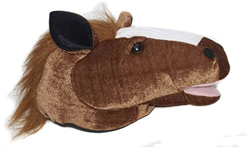 Plush Donkey Kids Costumes - Forum Novelties Plush Animal Brown Horse Costume Hat