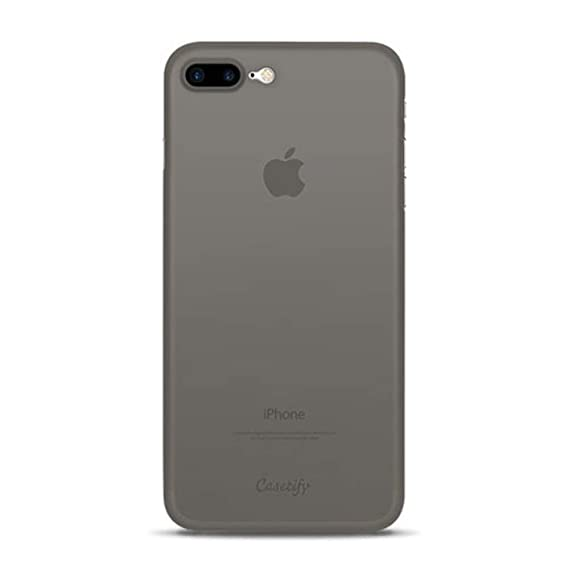 low priced 220f2 325bf Casetify Ultra Slim Skin iPhone 8 Plus Case with 0.45mm Thinnest Minimal  Light Cover and Anti-Scratch and Fingerprint Resistance Soft Thin Fit for  ...