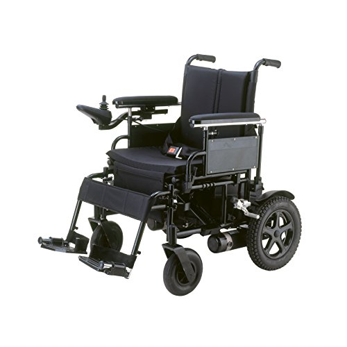 Drive Medical Cirrus Plus Folding Power Wheelchair with Footrest and...