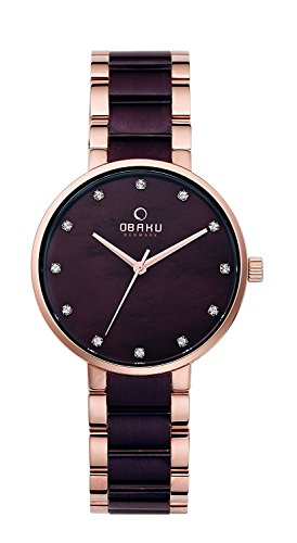 OBAKU watch 2 needle V189LXVNSA Ladies