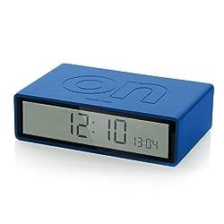 Lexon Alarm Clock - Flip - Blue