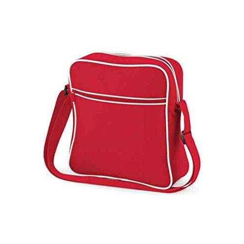 Classic Vuelo Base Bag Bolsa adultos Retro Unisex Red IYYdq