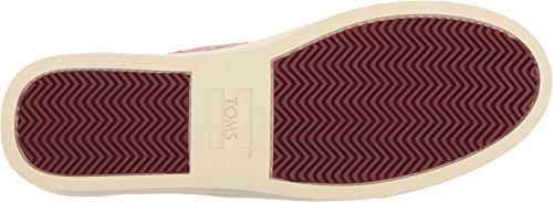 Toms Women's Lenox Novelty Textile Sneaker, Size: 11 B(M) US, Color: Pomegranate Woven Melange by TOMS (Image #2)