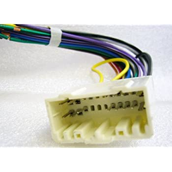 41EEOiDBO1L._SL500_AC_SS350_ amazon com stereo wire harness jeep grand cherokee 05 2005 (car 2005 jeep grand cherokee radio wiring harness at gsmx.co