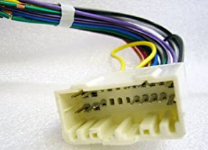 41EEOiDBO1L._SX300_ amazon com stereo wire harness dodge dakota 05 2005 (car radio aiwa car stereo wiring harness at gsmx.co