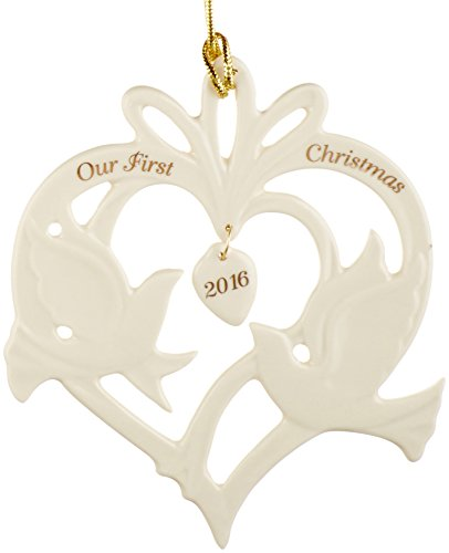 Lenox 2016 Our First Christmas Together Doves Ornament