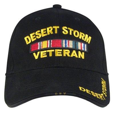 Deluxe Low Profile Cap, Desert Storm Vet
