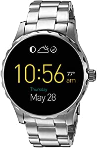 Fossil Q Marshal Gen 2 Touchscreen Silver Stainless Steel Smartwatch