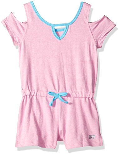 Marika Little Girls' Performance Romper, Pink Lotus, ()