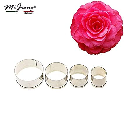 Buy Mijiang Stainless Steel Round Shape Cake Decorating Tools For
