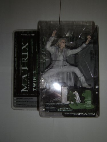 Twins From The Matrix (McFarlane Toys Series 1 Matrix Action Figure Twin)