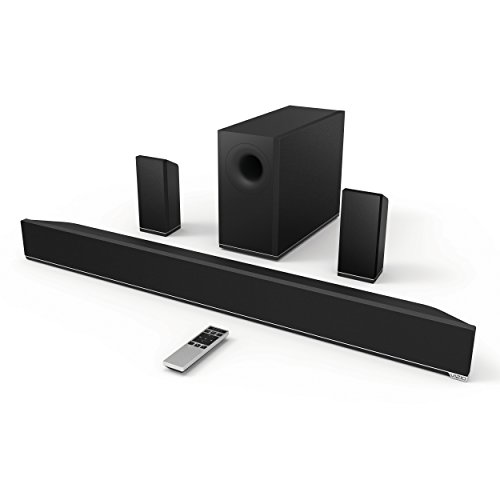 VIZIO S3851w-D4 38-Inch 5.1 Channel Sound Bar with Wireless Subwoofer & Satellite Speakers (2014 Model)
