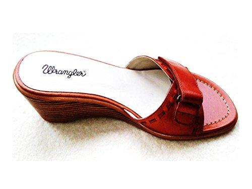Wrangler - Scarpe con plateau da ragazza' donna, rosa (Pink), 38