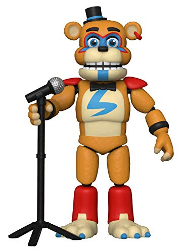 Funko Action Figure: Five Nights at Freddy's, Security Breach - Glamrock Fred, Multicolour