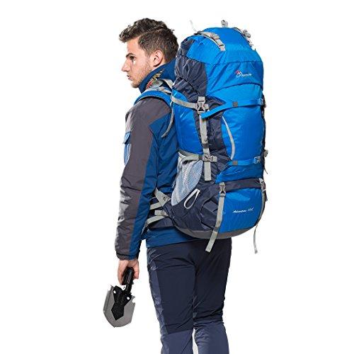 Mountaintop 70l Internal Frame Hiking Backpack Buy