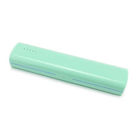 sonifox oral stericlean portátil UV desinfectante para cepillos de dientes, luz UV Esterilizador y organizador