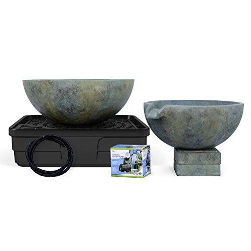 Aquascape Spillway Bowl and Basin Landscape and Garden Fountain Kit | 58087 - Aquascape Aquabasin Pump Kit
