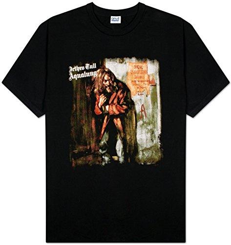 Jethro Tull Men's Aqualung T-shirt, Black