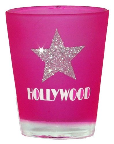 Hollywood Shot Glass Pink