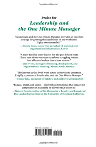 Leadership and the One Minute Manager Updated Ed: Increasing ...