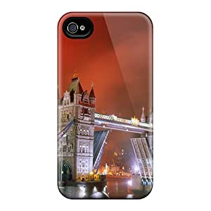 Snap-on Light Up The Night Tower Bridge Case Cover Skin Compatible With Iphone 5/5s