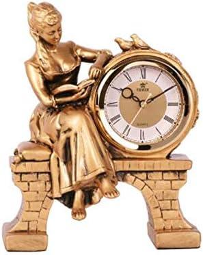 KUQIQI 現代のミニマリストの時計、クロック、時計、時計、創造的な装飾品、寝室の時計、リビングルームの時計、サイレントクロック (Color : B)