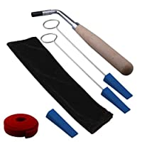 Ecloud Shop Professional Piano Tuning Hammer Tuner 6pcs Tool + case