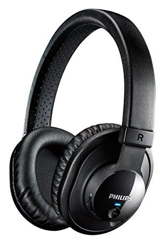 Philips SHB7150FB/00 Kabellose Over-Ear-Kopfhörer mit Bluetooth (Bluetooth 3.0, NFC) schwarz
