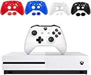 Microsoft Xbox One S 1TB Console, White with 1 Xbox Wireless Controller - 1 Month Xbox Game Pass Trial - Famil