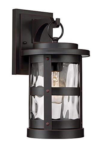 Designers Fountain 22721-SB Terraze 1 Light Outdoor Wall Mount