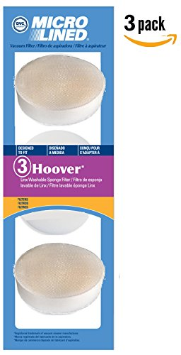 Hoover Linx Platinum Collection 2 Layer Replacement Filters, 3 Pack