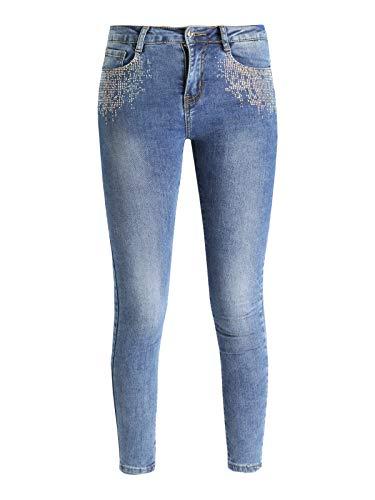para Vaqueros Mujer Vaqueros Vaqueros FARFALLINA para para Jeans FARFALLINA FARFALLINA Jeans Mujer AArFzEqw