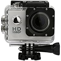 Boyiya Mini Waterproof Sports Recorder Car DV Action Camera Camcorder 1080P HD (Sliver)