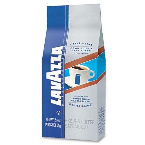 Lavazza - Gran Filtro Italian Dark Roast Coffee 2.25Oz Ground Fraction Pack 30/Carton