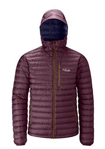 Rab Men's Microlight Alpine Jacket Horizon/Rococco