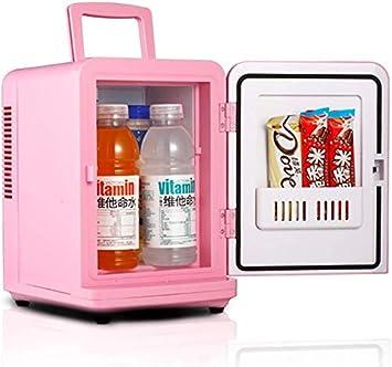 TIAH Mini nevera más fría y más caliente eléctrica, 6 latas de un ...