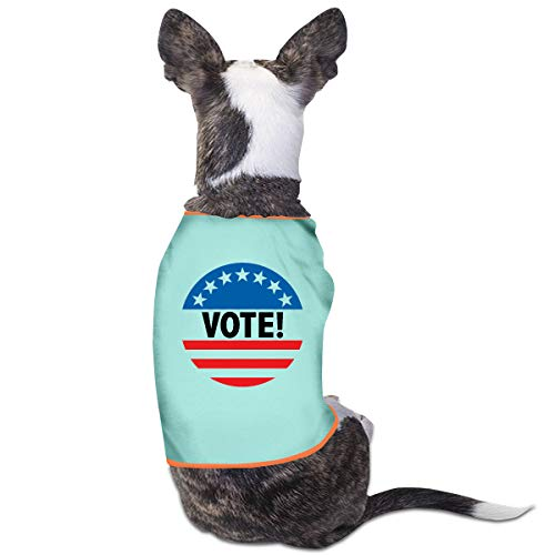 - Ttysuqhzwzx Vote Patriotic Election Voter Button Shirt Dog Anxiety Calming Wrap