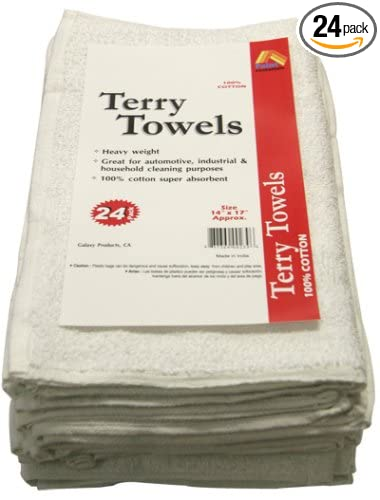 Amazon.com  Paint Essentials 14-Inch x 17-Inch Terry Towels 943c91a8e