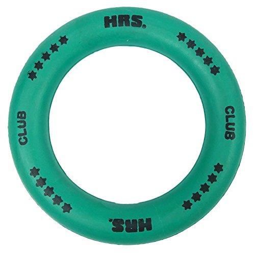 (4 x HRS Club Rubber Round Tennikoit Tennis Rings 6 Inches - Colour)