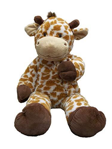 Goffa Jumbo Soft Plush with Baby, Stuffed Animal (Giraffe with - Plush Giraffe Giant